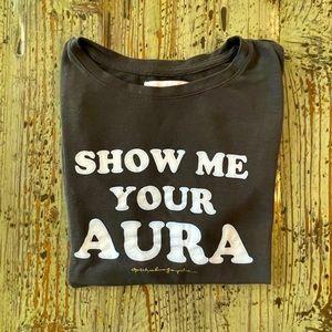 Spiritual Gangster Show me your Aura Black Tank